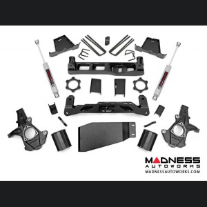 "GMC Sierra 1500 4WD Suspension Lift Kit w/ N3 Shocks - 7.5"" Lift"