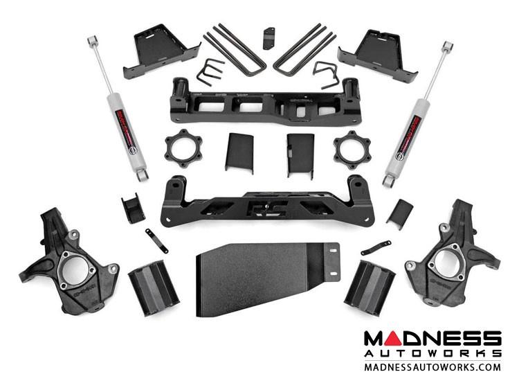 "GMC Sierra 1500 4WD Suspension Lift Kit w/ N3 Shocks - 7.5"" Lift"