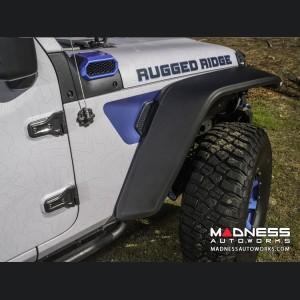 Jeep Wrangler JL Fender Flare Set by Rugged Ridge - Max Terrain