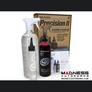 Precision II: Cleaning & Oil Kit - Red Oil
