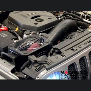 Jeep Wrangler JL Cold Air Intake - Dry Extendable - 2.0L