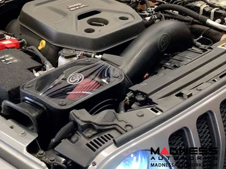 Jeep Wrangler JL Cold Air Intake - Cotton Cleanable - 2.0L