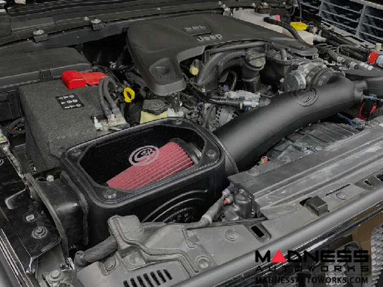 Jeep Wrangler JL Cold Air Intake - Cotton Cleanable - 3.6L