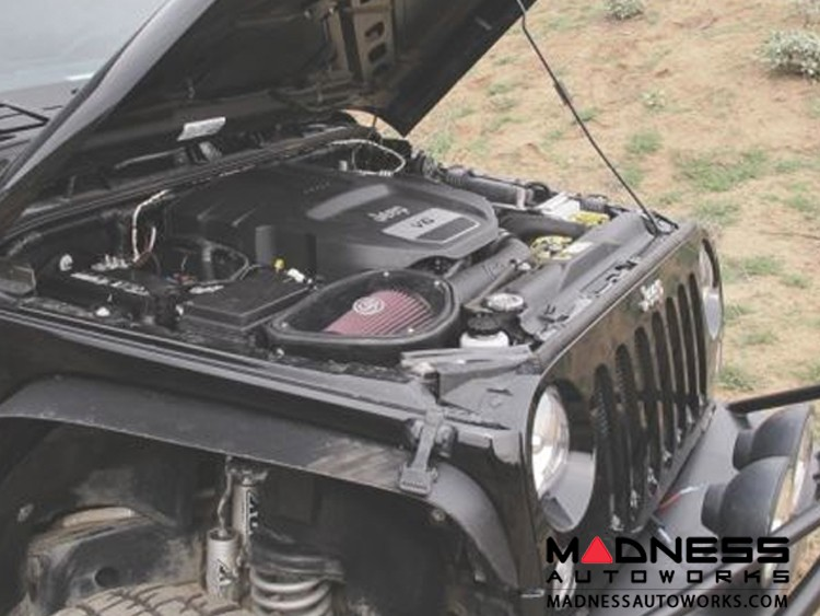 Jeep Gladiator Cold Air Intake - Dry Extendable - 3.6L