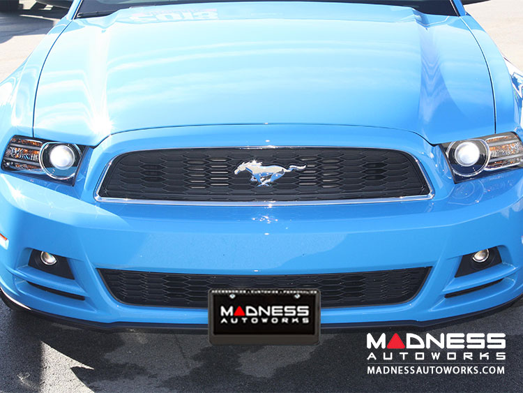 Ford Mustang V6/ 5.0 License Plate Mount by Sto N Sho (2013-2014)