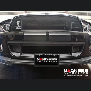 Ford Shelby Mustang License Plate Mount by Sto N Sho - w/ Chin Splitter (2013-2014)