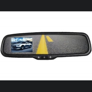 "SecurView Replacement Rear View Mirror with 3.5"" LCD Screen"