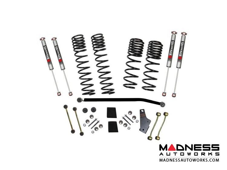 "Jeep Wrangler JL Rubicon 4WD Lift Kit System w/ M95 Shocks - 4 Door - 3.5-4"""