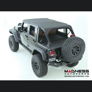 Jeep Wrangler JK by Smittybilt - Extended Top - 4 Door - Black Diamond