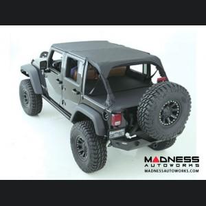 Jeep Wrangler JK by Smittybilt - Extended Top - 4 Door - Black Diamond
