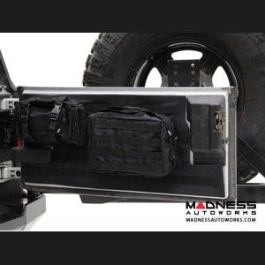 Jeep Wrangler JK by Smittybilt - Gear Tailgate Cover - Black