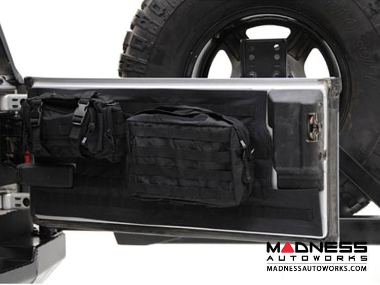 Jeep Wrangler JK by Smittybilt - Gear Tailgate Cover - Black