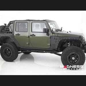 Jeep Wrangler JK XRC Front Fender by Smittybilt - Black Textured