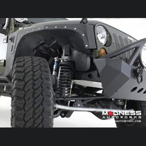 Jeep Wrangler JK XRC Front Fender by Smittybilt - Black Textured