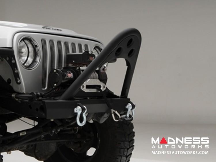 Jeep Wrangler JK SRC Stinger Bumper - Front - Black Textured