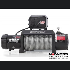 Winch by Smittybilt - XRC Comp Series 9.5 Gen II 9,500 lb. Winch w/ Synthetic Rope & Aluminum Fairlead Universal