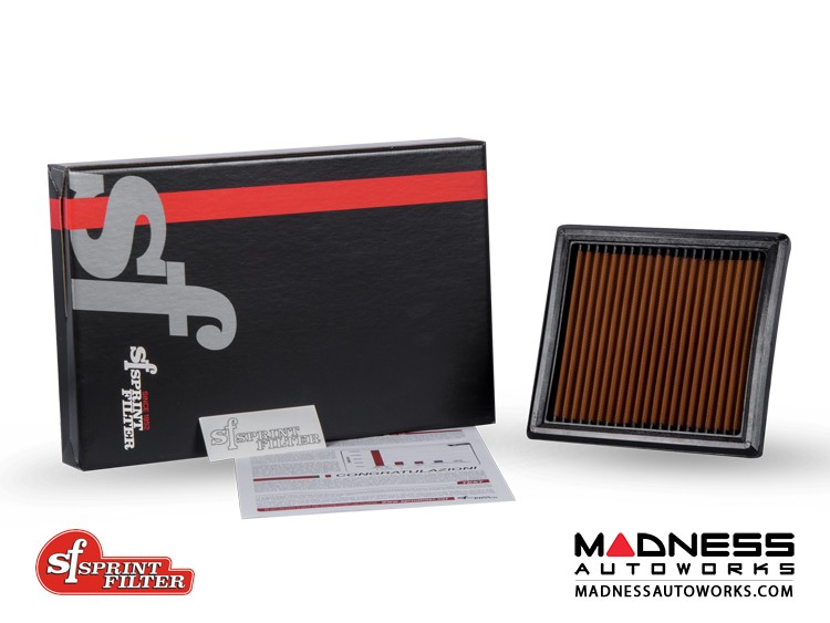 Jeep Renegade Performance Air Filter - Sprint Filter - 1.4L Turbo