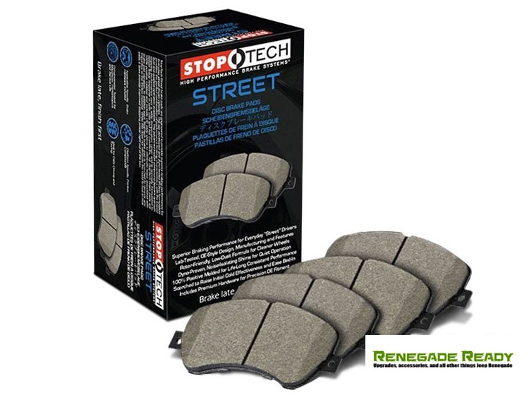 Jeep Compass Brake Pads - StopTech Street - Front