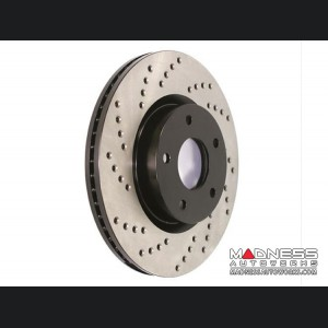 Chrysler 200 Performance Brake Rotor - Drilled and Vented - Front Left