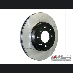 Jeep Renegade Performance Brake Rotor - StopTech - Slotted Cryo Rotor - Front Left