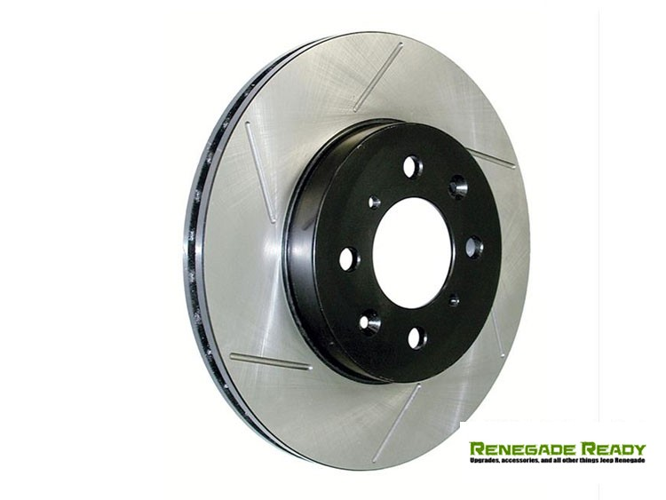 Jeep Compass Performance Brake Rotor - StopTech - Slotted - Front Left