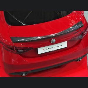 Alfa Romeo Giulia Trunk Spoiler - Carbon Fiber - Stile Italia