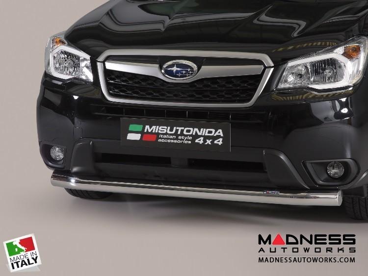 Subaru Forester Bumper Guard - Front - Slash Bar Bumper Protector by Misutonida