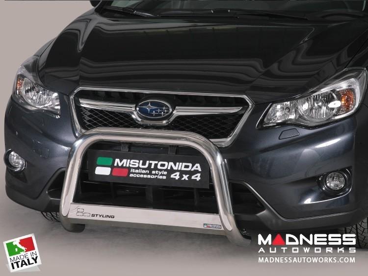 Subaru XV Crosstrek Bumper Guard - Front - Medium Bumper Protector by Misutonida