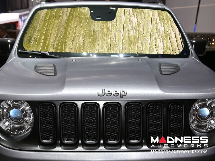 Jeep Renegade Windshield Reflector by Intro-Tech - Gold