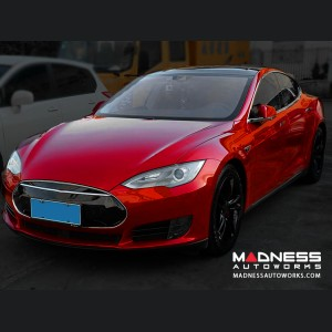 Tesla Model S Front Spoiler - Carbon Fiber