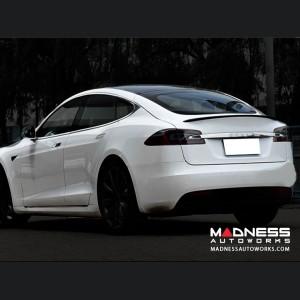 Tesla Model S Rear Diffuser - Carbon Fiber - '16-17