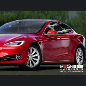 Tesla Model S Side Skirts - Carbon Fiber