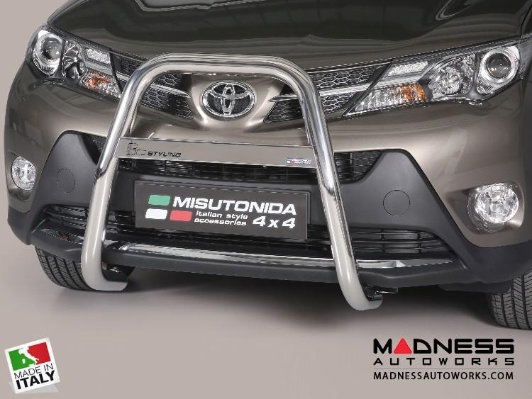Toyota RAV4 Bumper Guard - Front - High Medium Bumper Protector by Misutonida