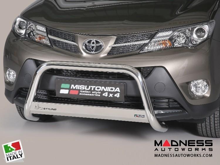 Toyota RAV4 Bumper Guard - Front - Medium Bumper Protector by Misutonida