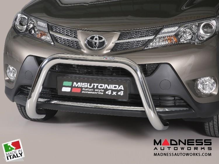 Toyota RAV4 Bumper Guard - Front - Super Bar by Misutonida