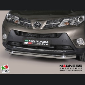 Toyota RAV4 Bumper Guard - Front - Slash Bar Bumper Protector by Misutonida