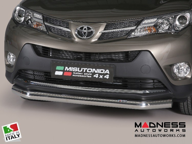 Toyota RAV4 Bumper Guard - Front - Slash Bar Bumper Protector by Misutonida