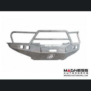 Toyota Tacoma Stealth Front Winch Bumper Lonestar Guard - Raw Steel WARN M8000 Or 9.5xp