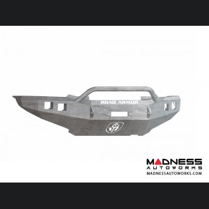 Toyota Tacoma Stealth Front Winch Bumper Pre-Runner Guard - Raw Steel WARN M8000 Or 9.5xp