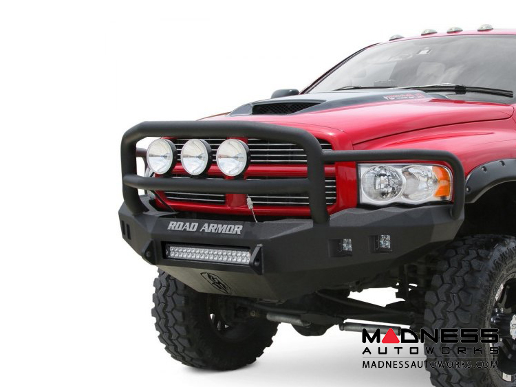 Toyota Tundra Stealth Front Non-Winch Bumper Lonestar Guard - Raw Steel