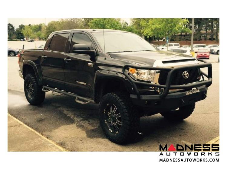 Toyota Tundra Stealth Front Winch Bumper Lonestar Guard - Smittybilt XRC - Texture Black WARN M12000
