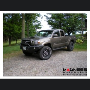 Toyota Tacoma Stealth Front Winch Bumper Pre-Runner Guard - Texture Black WARN M8000 Or 9.5xp