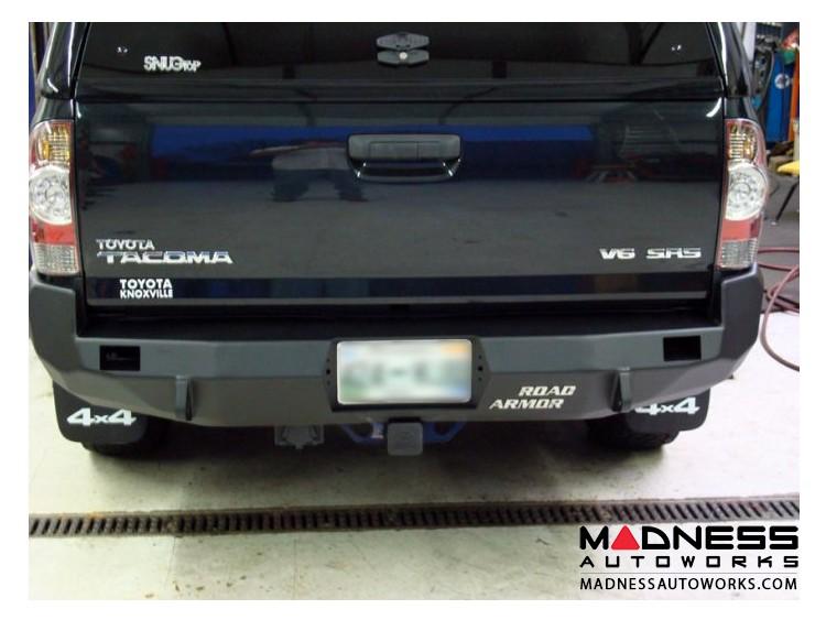Toyota Tacoma Stealth Rear Winch Bumper - Raw Steel WARN M8000 Or 9.5xp