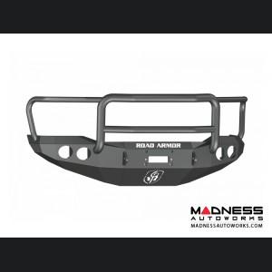 Toyota Tundra Stealth Front Winch Bumper Lonestar Guard - Texture Black WARN M8000 Or 9.5xp