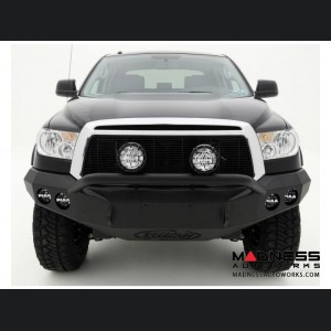 Toyota Tundra Stealth Front Winch Bumper Pre-Runner Guard - Raw Steel WARN M8000 Or 9.5xp
