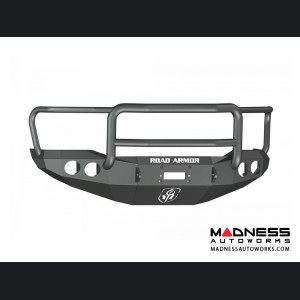 Toyota Tundra Stealth Front Winch Bumper - Texture Black WARN M8000 Or 9.5xp