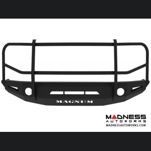 Toyota Tundra Magnum Grille Guard Series - Non-Winch Bumper w/o Parking Sensors - Round - Front