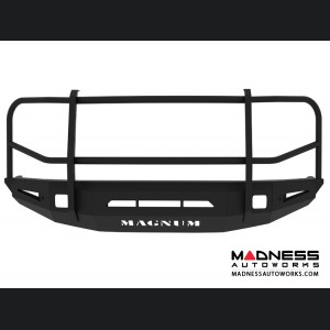 Toyota Tundra Magnum Grille Guard Series - Non-Winch Bumper w/ Parking Sensors - Square - Front