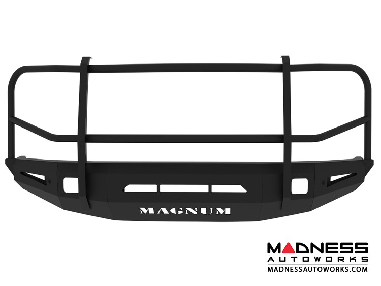 Toyota Tundra Magnum Grille Guard Series - Non-Winch Bumper w/ Parking Sensors - Square - Front