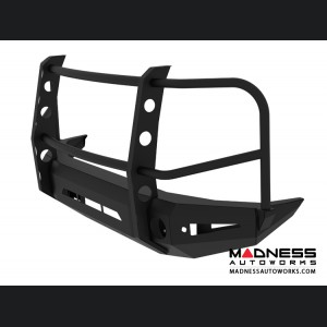 Toyota Tundra Magnum Grille Guard Series - Non-Winch Bumper w/ Parking Sensors - Round - Front